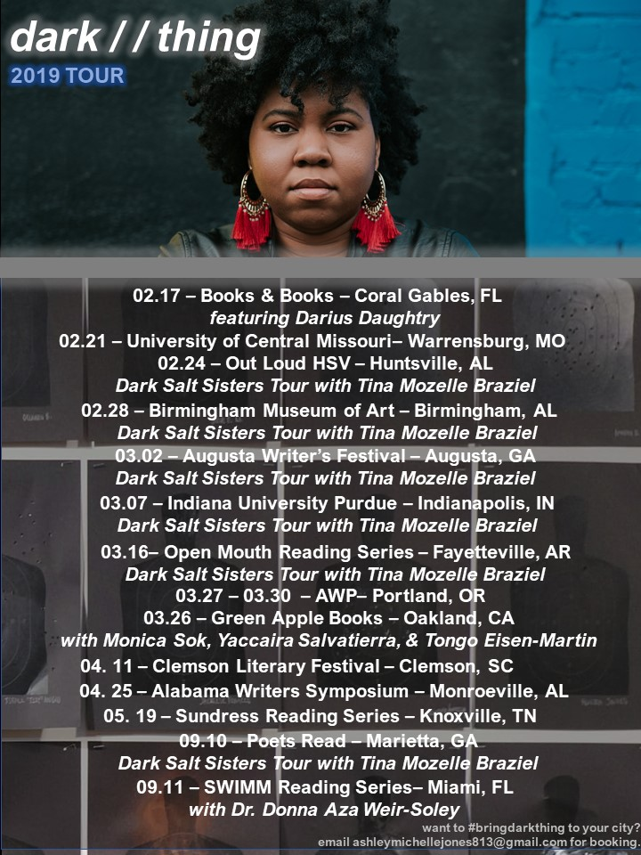 dark thing tour poster update
